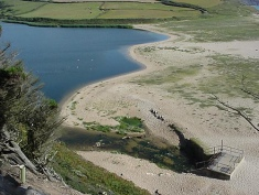 Adit in Loe Bar to control water levels