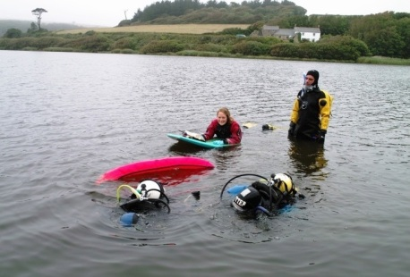 Kennack Divers helping ecological survey