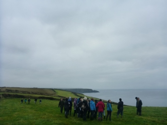 University of Exeter student field trip at Chyvarloe Farm