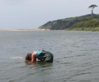 Bathyscope survey in Carminowe Creek